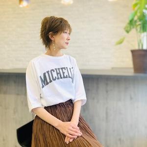 MICA&DEAL (マイカ&ディール) ビックラグランスリーブロゴTシャツ 0121109006