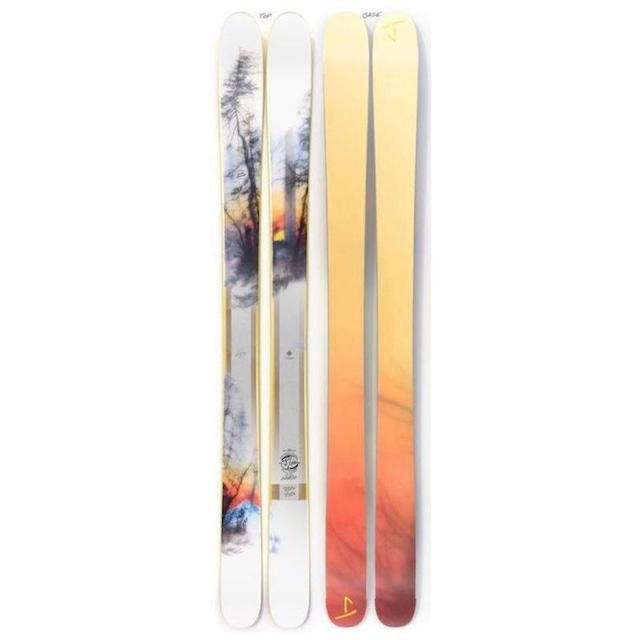 【予約】J skis - ホットショット「サンライズ」Brooks Salzwedel x Jコラボ限定版スキー【特典付き】