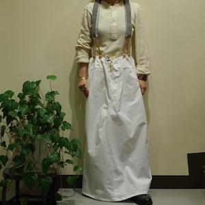 Military Re Make Skirt / ミリタリー リメイク スカート
