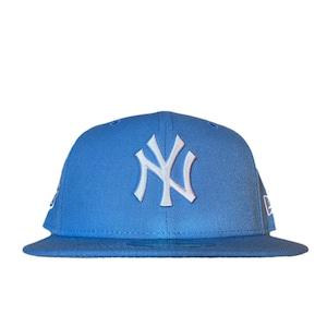 NEW ERA New York Yankees 1999 World Series 59Fifty Fitted / Ice Blue×White (Gray Brim)