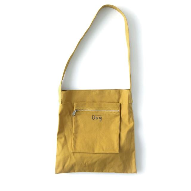 松野屋×『天然生活』愛犬とのお散歩バッグ【黄色】