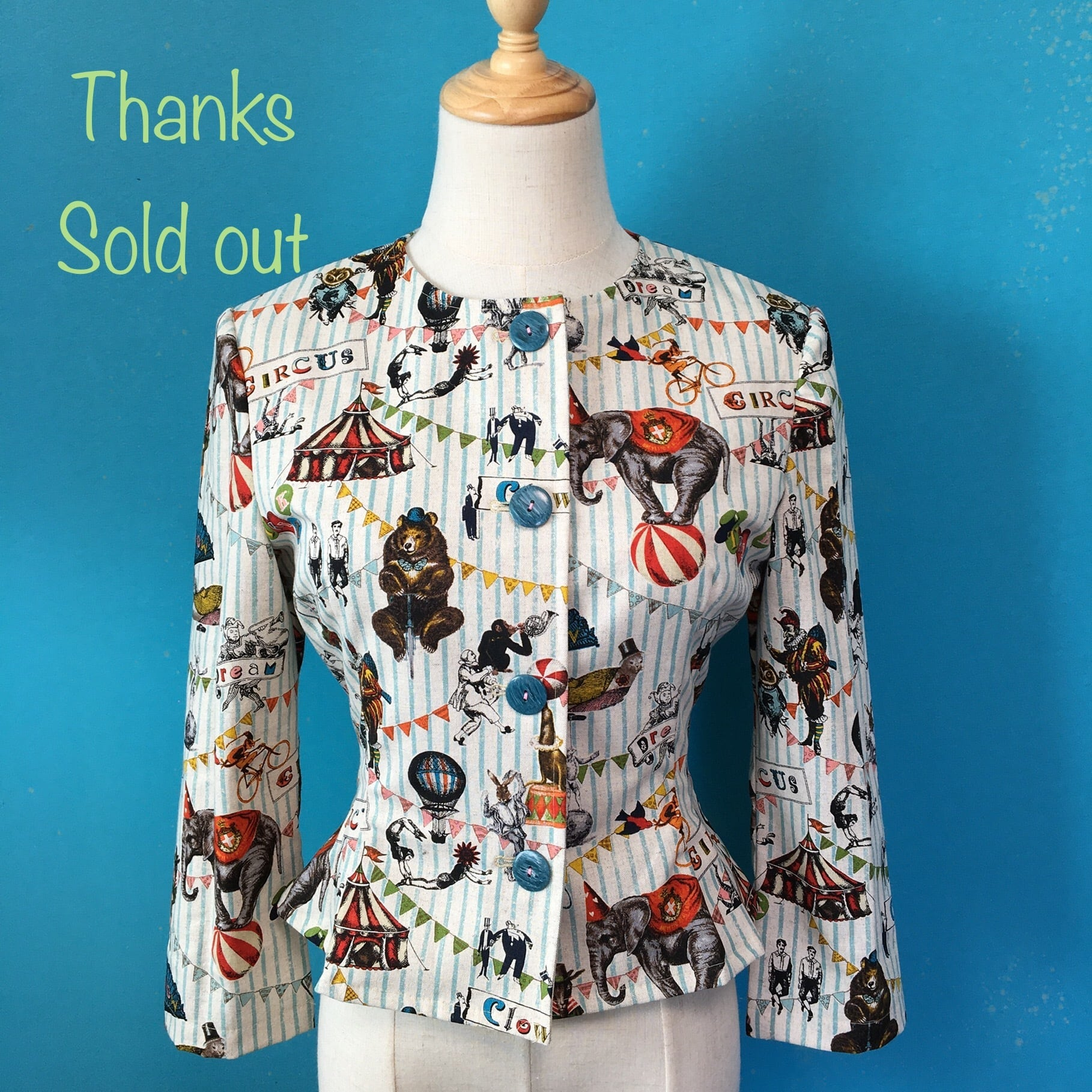 Cotton circus jacket / US 6