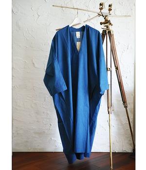 JAN JAN VAN ESSCHE - Oversized Vneck tunic with inserted rectangular Yoke TYPEWRITER COTTON - TUNIC#20