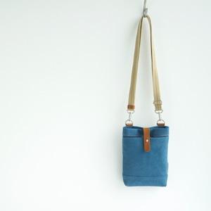 CANVAS CHALK BAG / RAIN BLUE