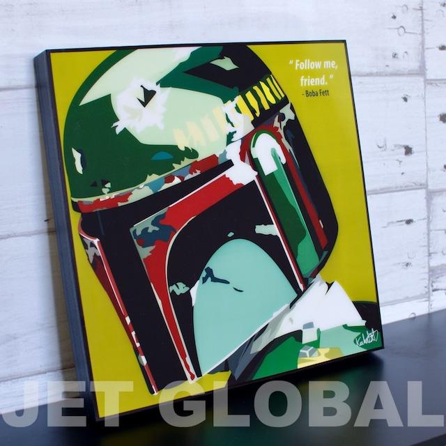 ボバフェット(STARWARS)/ BOBA FETT : GREEN / Lサイズ 52cm / PAPSW_0002