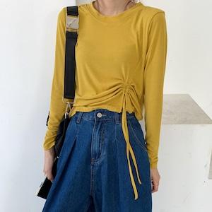 ドロストシンプルTシャツ #ZRD5462