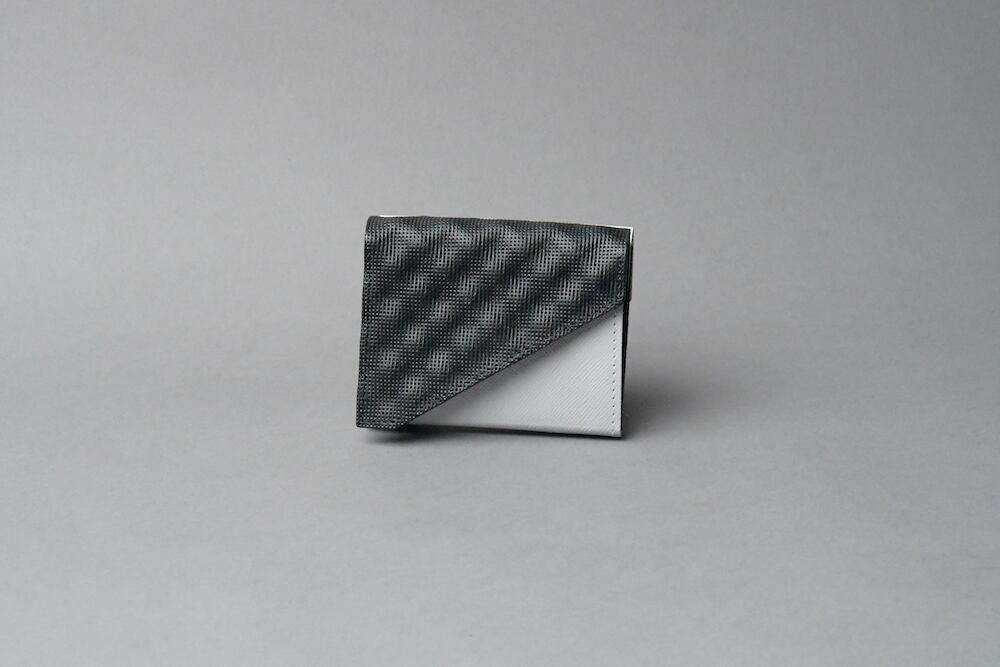 Double Flap ダブルフラップ W □WH-LG-BK□ - 画像2