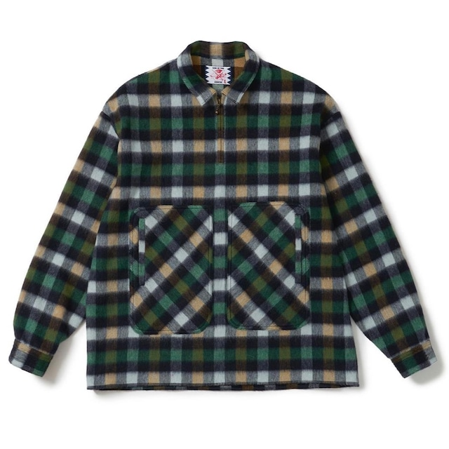 【SON OF THE CHEESE】Flannel check P/O