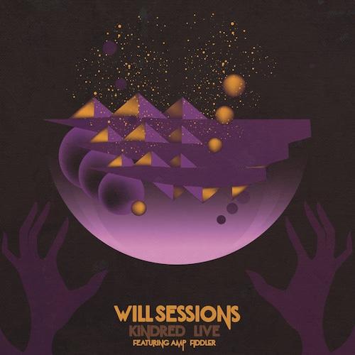 【ラスト1/LP】Will Sessions feat. Amp Fiddler - Kindred Live(ゴールド・ヴァイナル)