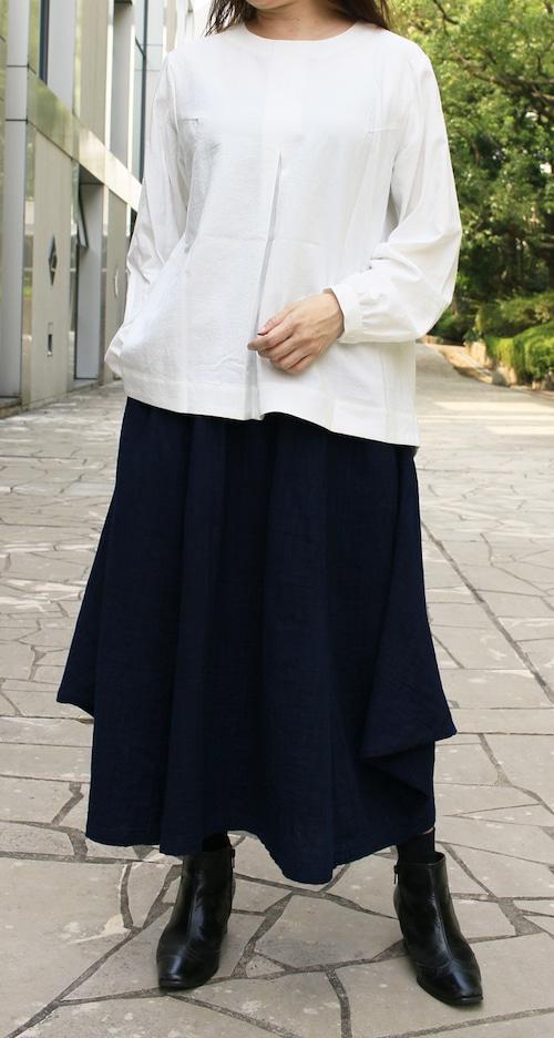 【ワーキングオフィス】スカート(藍)ww1551
