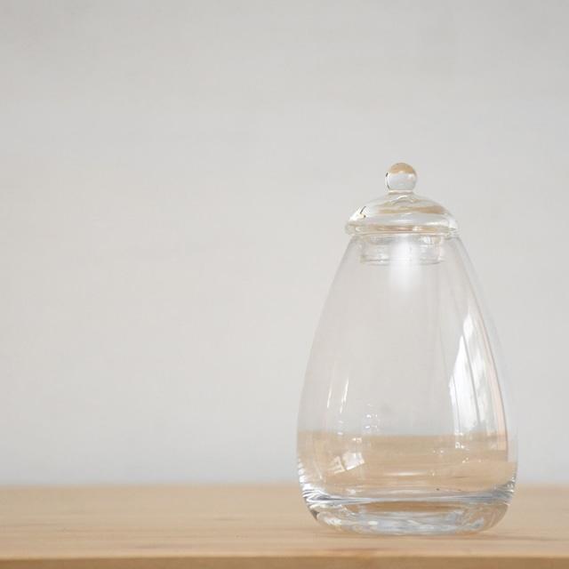 【ガラス容器】たまご瓶(80xh130mm)