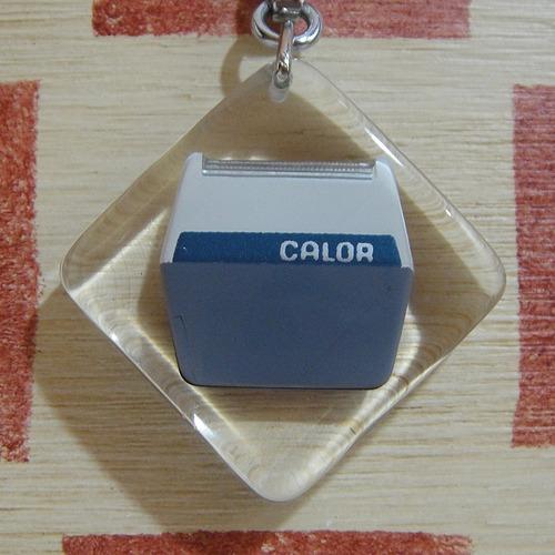 フランス CALOR[カロール]家電メーカー ノベルティ 電気シェーバーブルボンキーホルダー