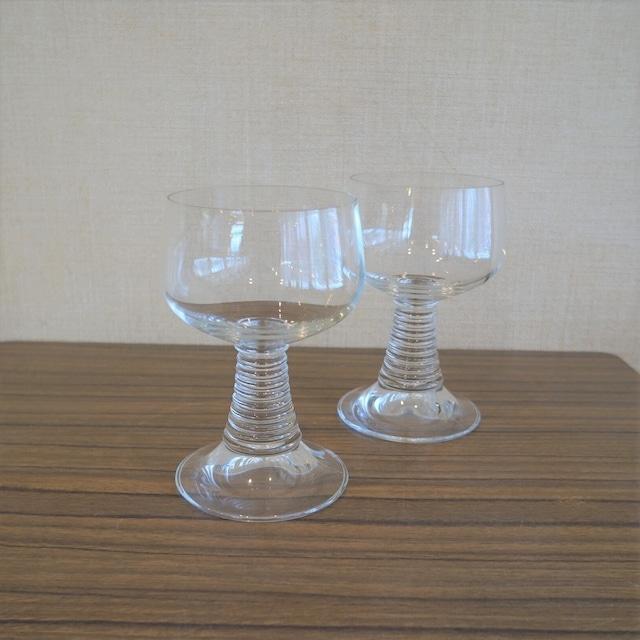 レトロなグラス 2個セット