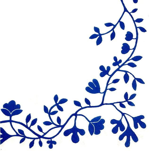 【Rorstrand】バラ売り1枚 ランチサイズ ペーパーナプキン PERGOLA ホワイト