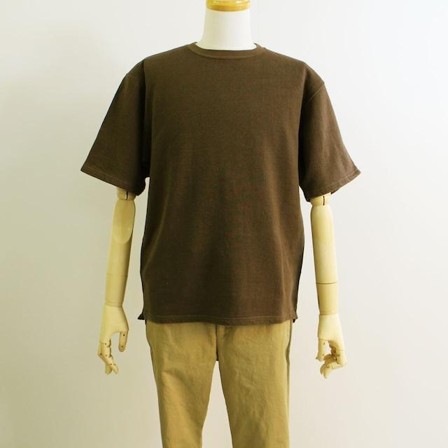 COMM.ARCH  コム・アーチ  LI.CO.SWEAT S/S リネンコットン吊り編み 半袖スウェット  メンズ(サイズ3)