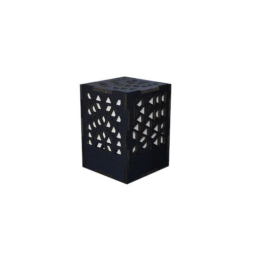 ミニ行灯 ベクトル - 置き型照明 Sサイズ ブラック