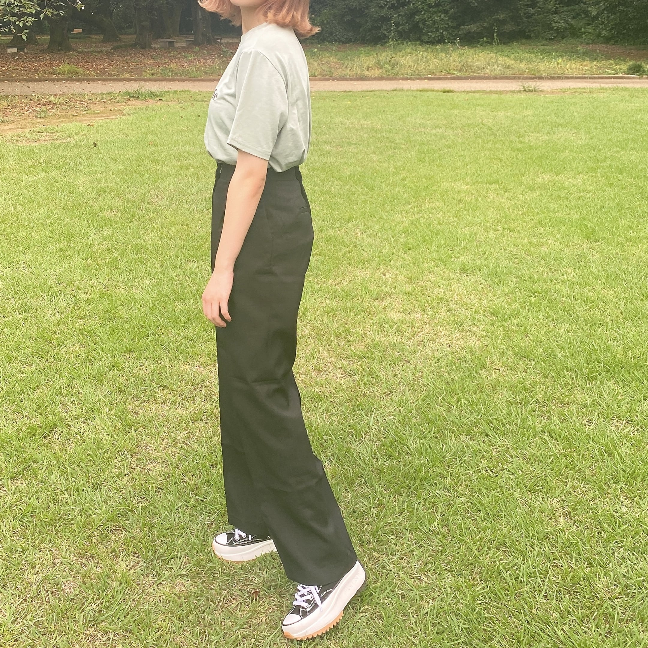 rough straight pants