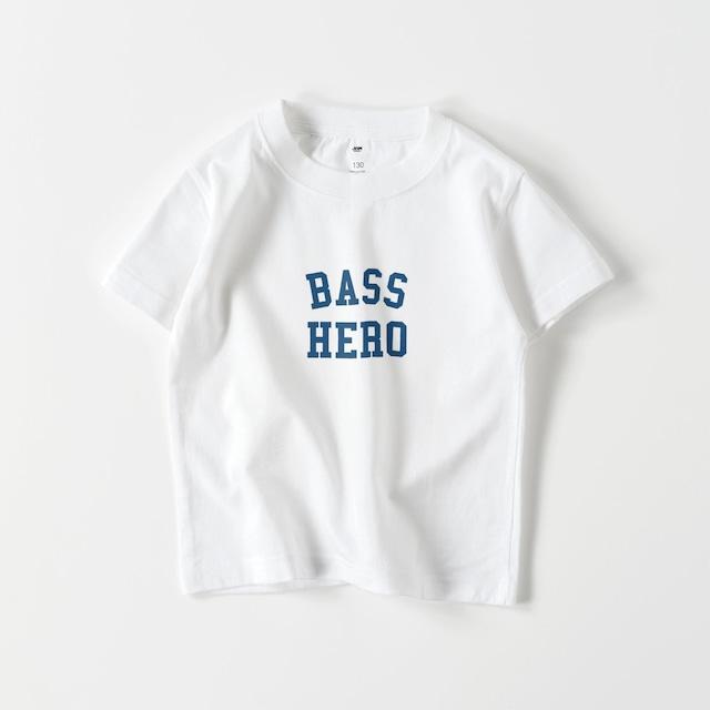 BASS HERO KIDS T (WHITE)