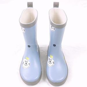 7856雨靴 キッズ  子供 子ども  ジュニア 長靴  レインブーツ レインシューズ 男の子 女の子 ブルー 15cm-22.5cm