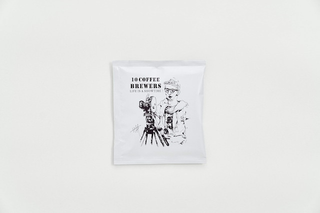 10 COFFEE BREWERS COFFEE BAG(映画監督ver.)1P