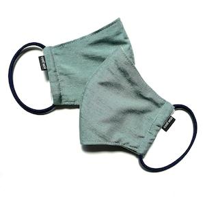 【高級留袖生地使用 日本製】高級和柄マスク2枚セット w16