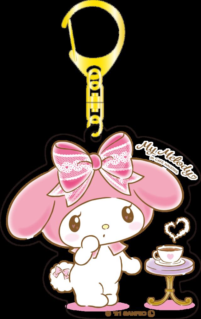 My Melody Cafe アクリルキーホルダー(メロディ)