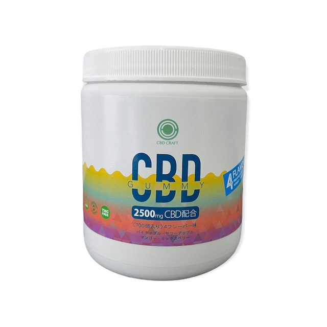『お得なケース販売』今話題の高濃度CBDグミ  Napa Nectar味【 California Grown】