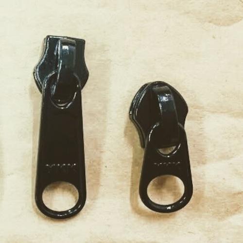 YKK スライダー 8c DFW(短) 表使い  黒/カラー つやあり 10個