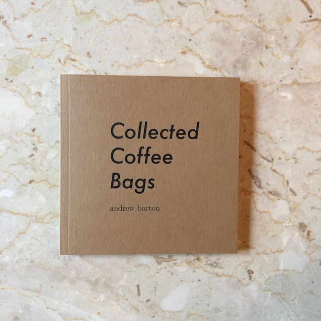 Collected Coffee Bags(洋書)