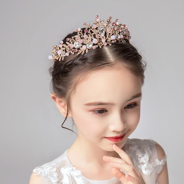 子どもアクセサリー 髪飾り ヘッドドレス 結婚式 入園式 七五三 プレゼント 王冠 舞台 子どもドレス