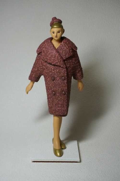 COOL氏 NO.31「オーバーコートを着たマリー」VintageStyleシリーズ