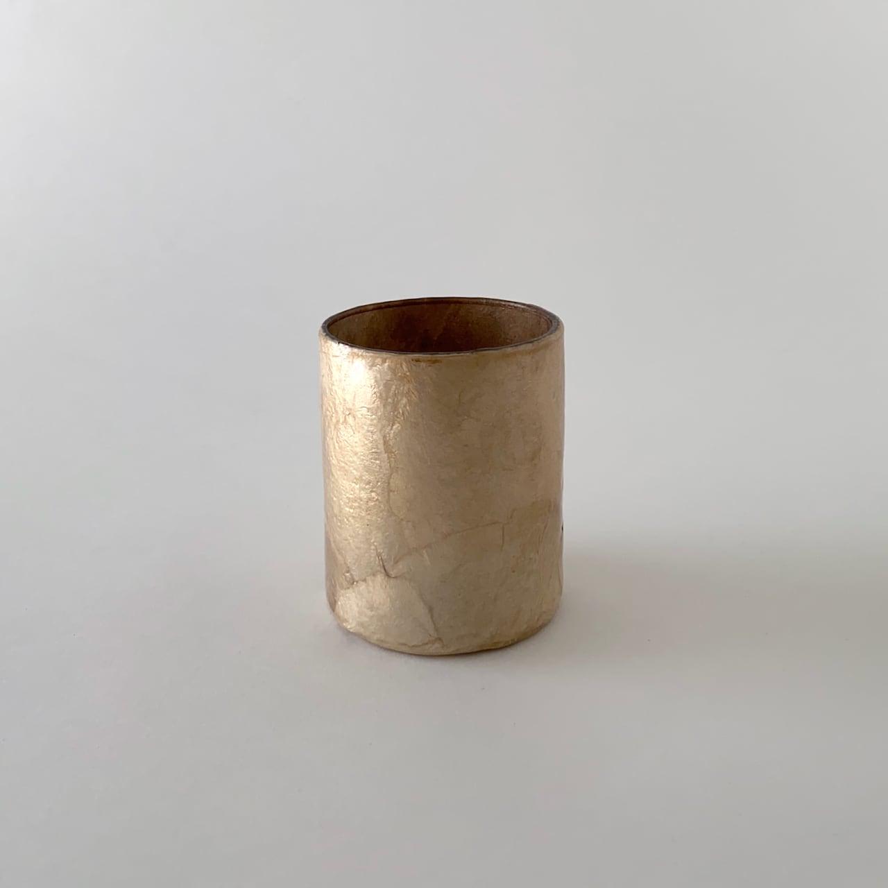 Votive Candleholder / Vase Nude Buff ボーティブ キャンドルホルダー フラワーベース ヌード バフ