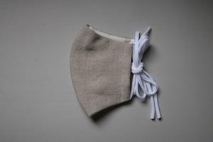 QRAFTS オリジナルマスク <リネン ナチュラル>