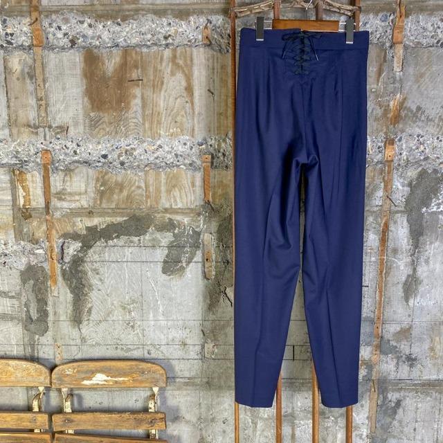 HYKE【ハイク】 MARINE TAPERED PANTS .