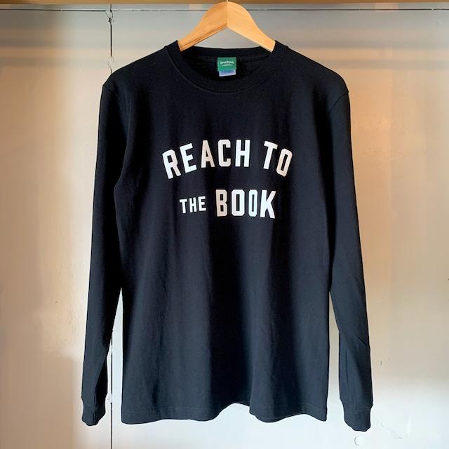ロングスリーブTシャツ / REACH TO THE BOOK / Black