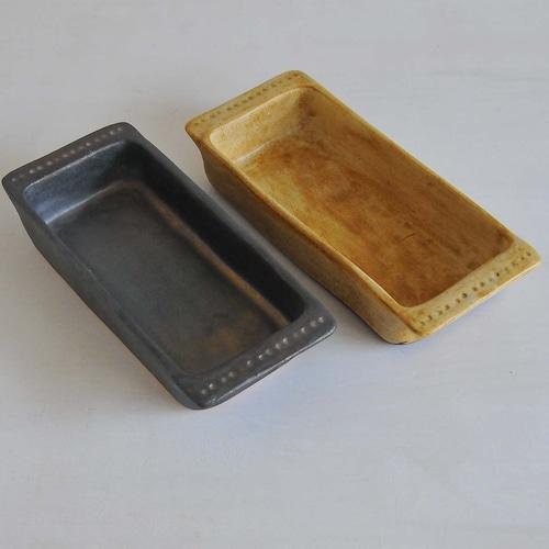 鈴木史子 耐熱グラタン皿(長方形)小