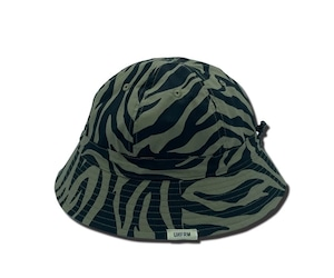 UNFRM OUTDOOR STANDARD「SHELTECH REVERSIBLE BELL HAT」OLIVE/ZEBLA