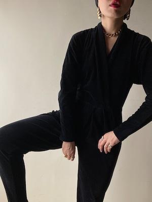 Vintage Velour Jumpsuit