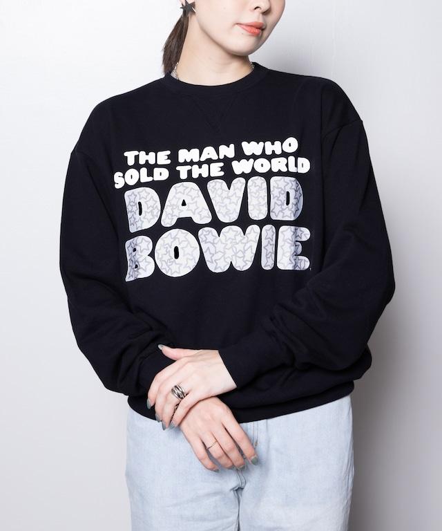 DAVID BOWIE (デヴィット・ボウイ)スウェットシャツ
