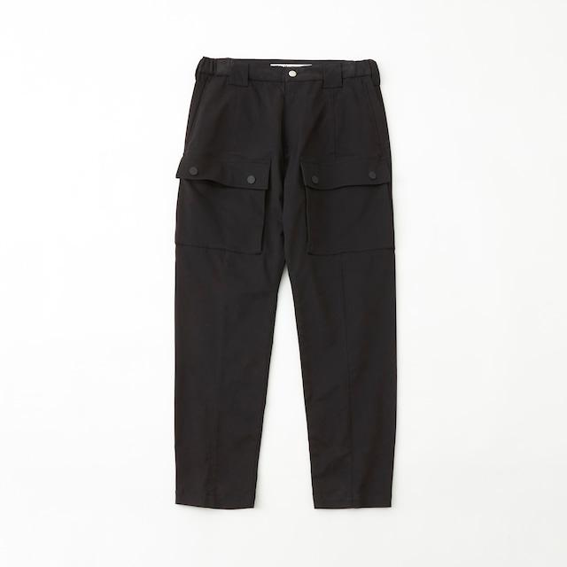 TWILLED 6 POCKET PANTS - BLACK