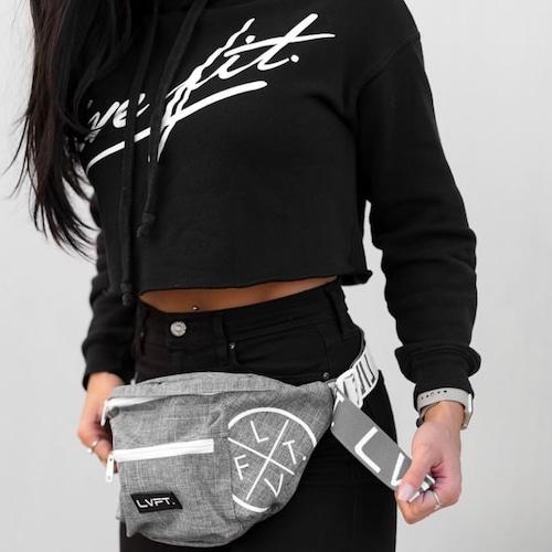 LIVE FIT LVFT Waist Packs- grey