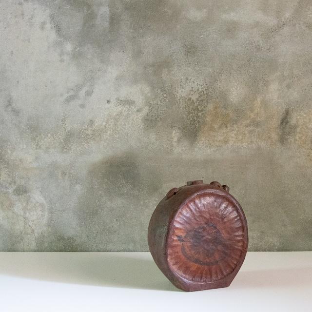 一閑張りの木製水筒