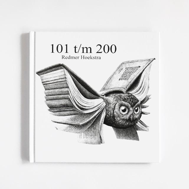 イラスト集「101 t/m 200 - Signé」イラストレーターRedmer Hoeakstra