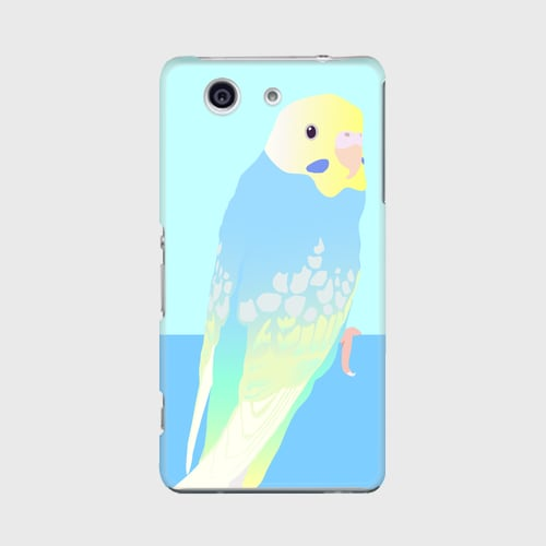 Xperia Z3 Compact セキセイインコ