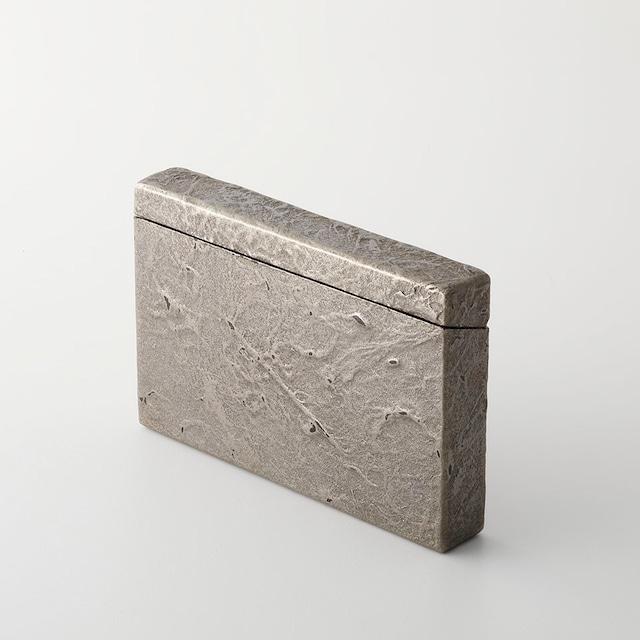 【夜久野高原漆器】】カードケース(一閑すず) Lacquered card case