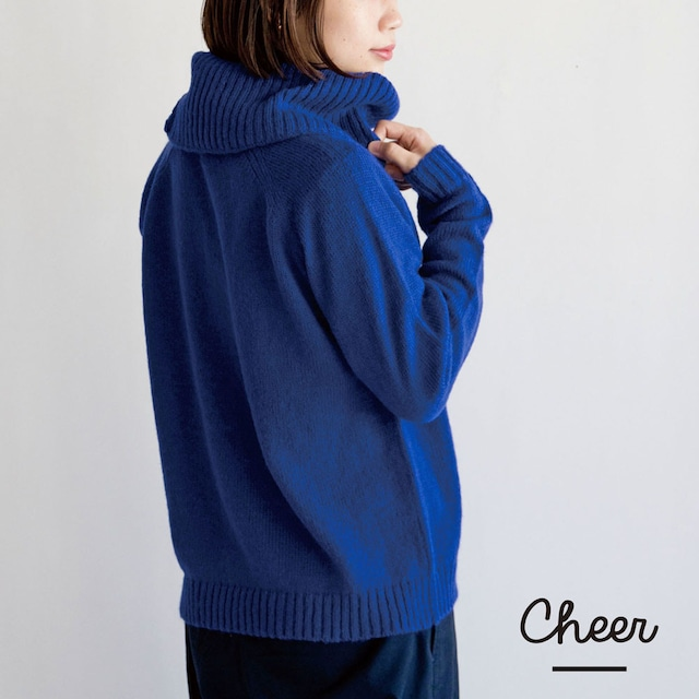 【Cheer】セレーナ スヌード付き セーター