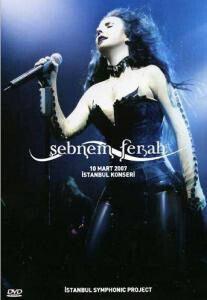 """SEBNEM FERAH """"10 Mart 2007 - Istanbul Konseri"""" DVD / PAL (輸入盤)"""