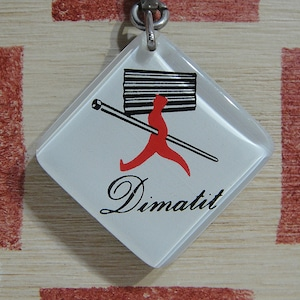 フランス Dimatit[ディマティット]工業製品メーカー広告ブルボンキーホルダー