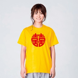 ラーメン Tシャツ メンズ レディース 白 イエロー 夏 大きいサイズ 160 S M L XL