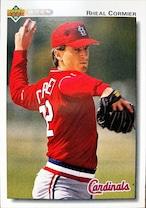 MLBカード 92UPPERDECK Rheal Cormier #574 CARDINALS